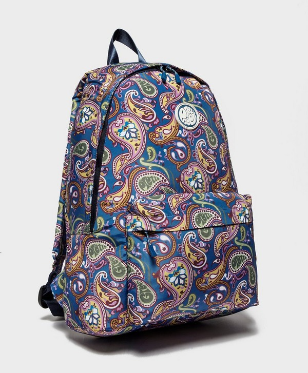 Multicolored Paisley Print Design Backpack