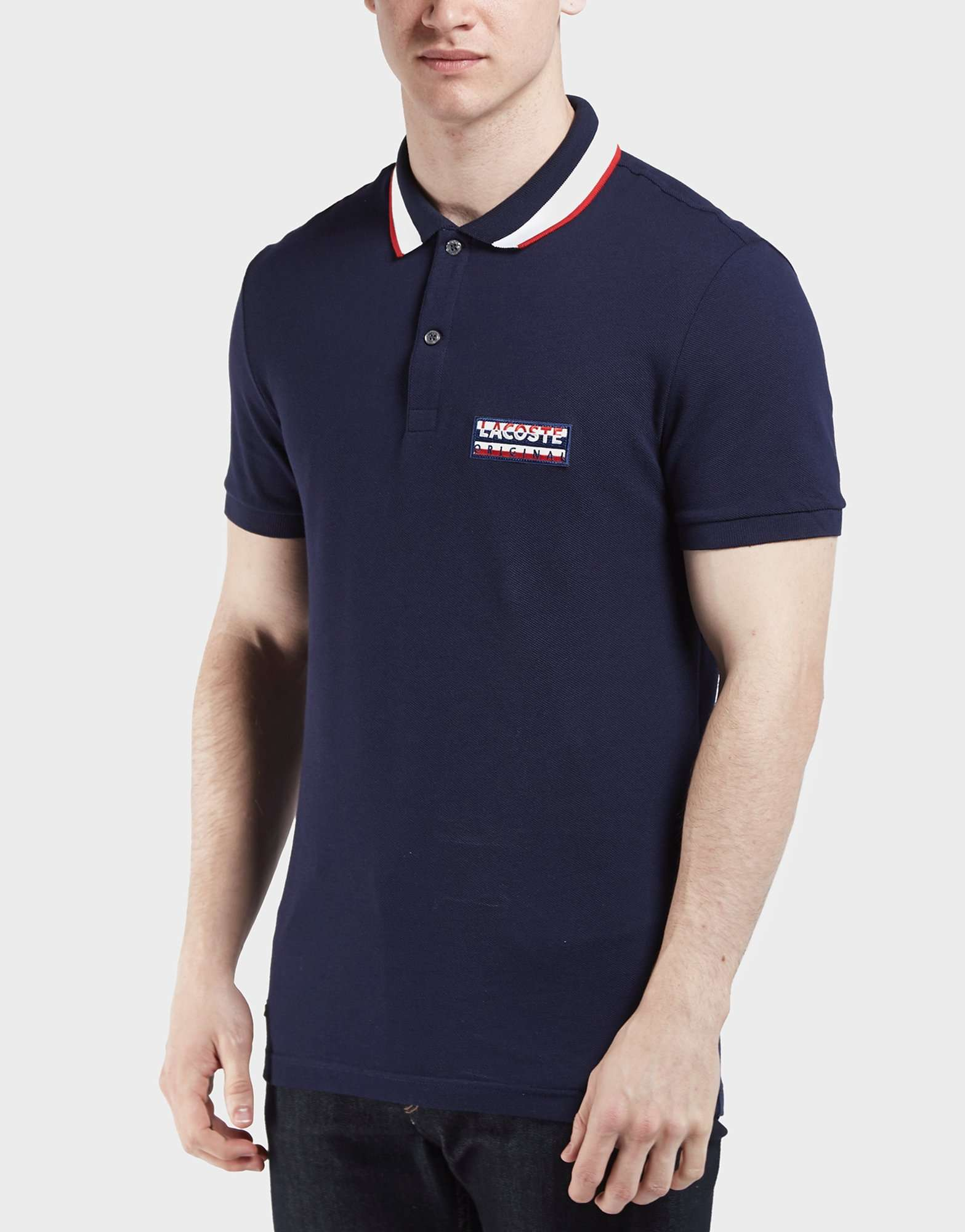 Lacoste Badge Logo Short Sleeve Polo Shirt
