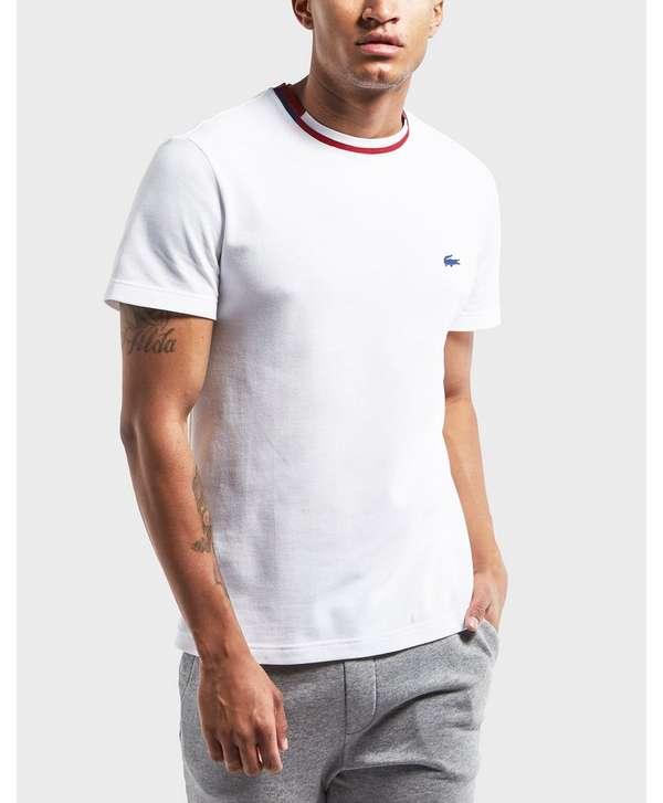 lacoste rubber croc short sleeve t shirt scotts menswear. Black Bedroom Furniture Sets. Home Design Ideas