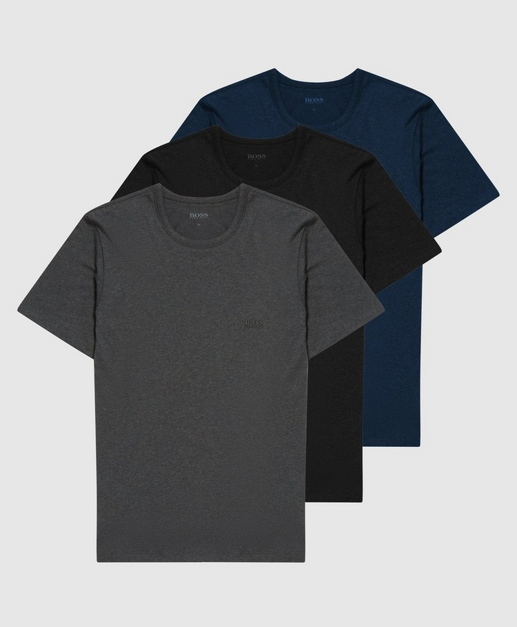 BOSS 3-Pack Logo Short Sleeve T-Shirts