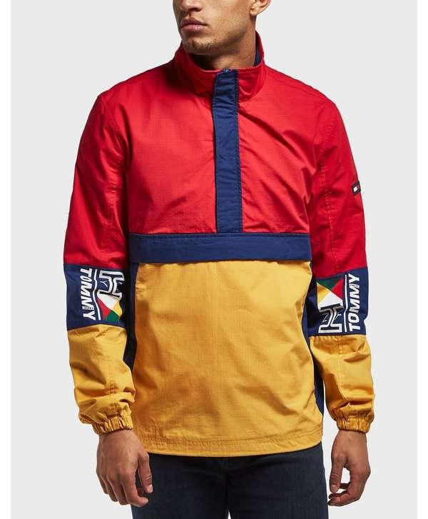 Tommy Jeans Retro Block Overhead Light Jacket