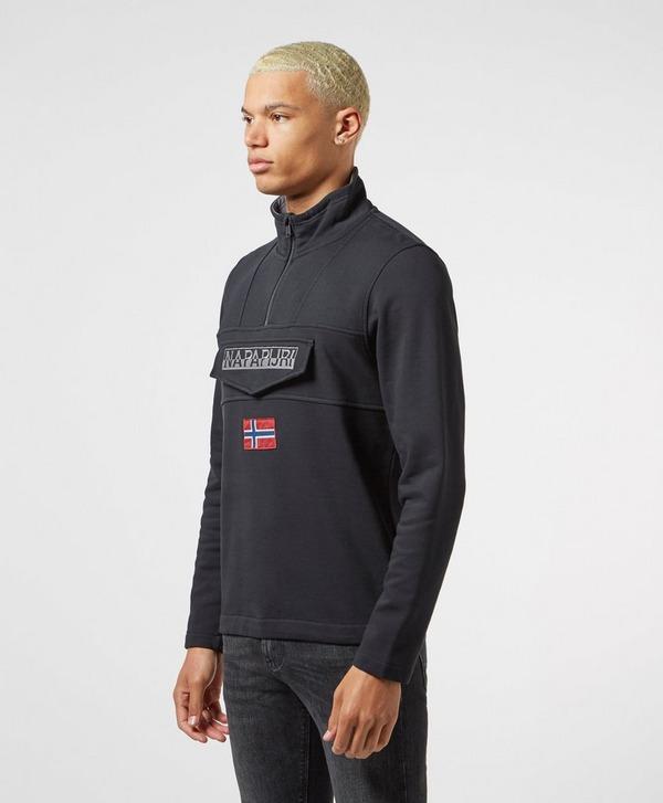 Napapijri Flag Pocket Half Zip Sweatshirt