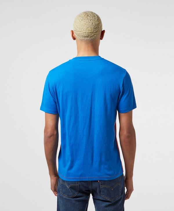 Napapijri Striped Logo Short Sleeve T-Shirt