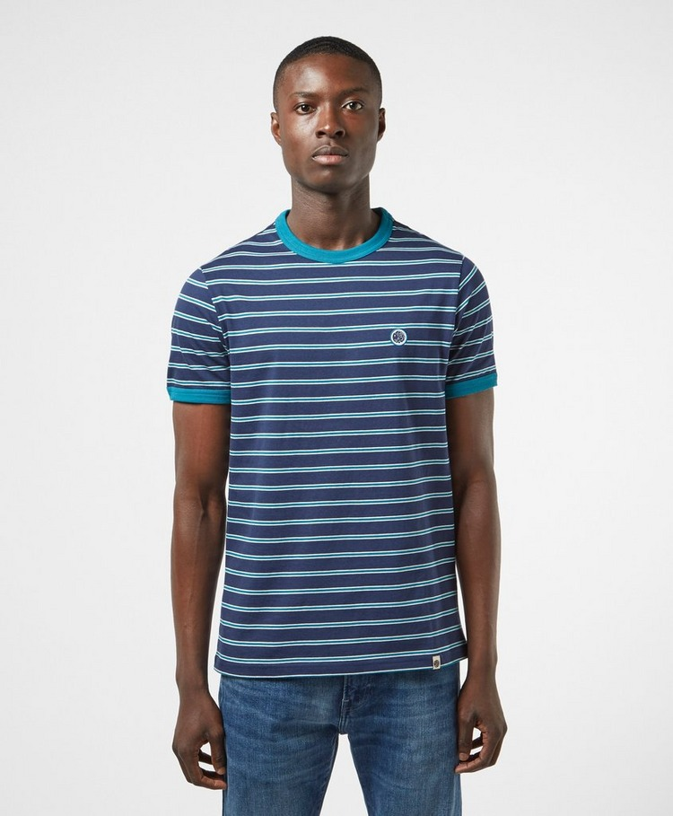 Pretty Green Striped Short Sleeve T-Shirt