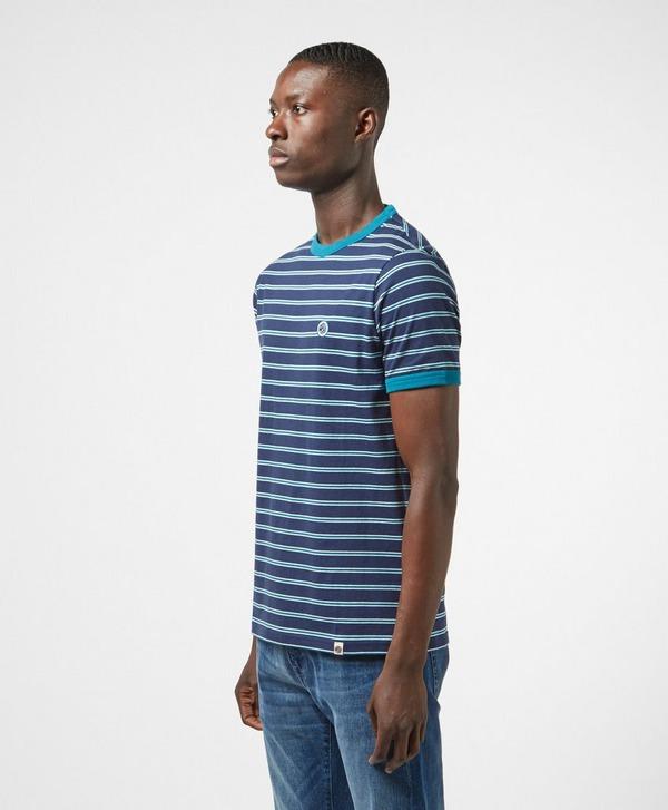 Pretty Green Striped Short Sleeve T-Shirt