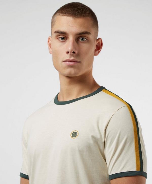 Pretty Green Tilby Short Sleeve Tape T-Shirt