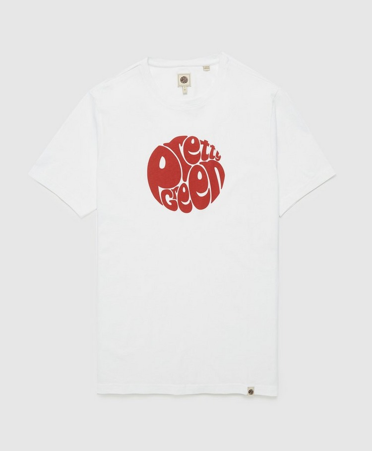 Pretty Green Gillespie Logo Short Sleeve T-Shirt