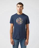 Pretty Green Vintage Paisley Logo Short Sleeve T-Shirt