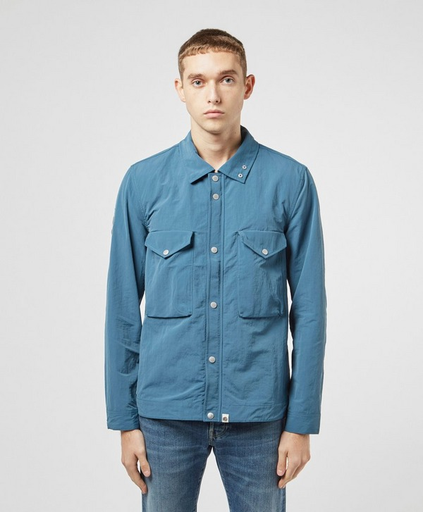 Pretty Green Zip Nylon Overshirt