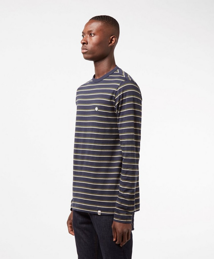 Pretty Green Long Sleeve Striped T-Shirt
