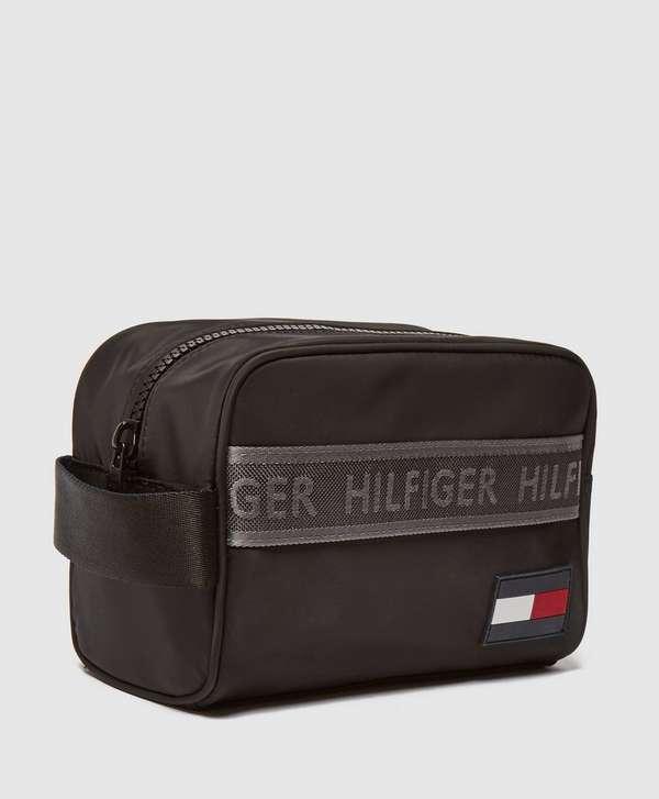 Tommy Hilfiger Tape Flag Wash Bag
