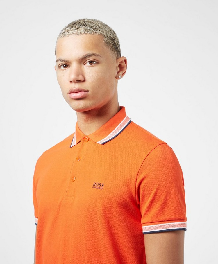 BOSS Paddy Short Sleeve Tipped Polo Shirt