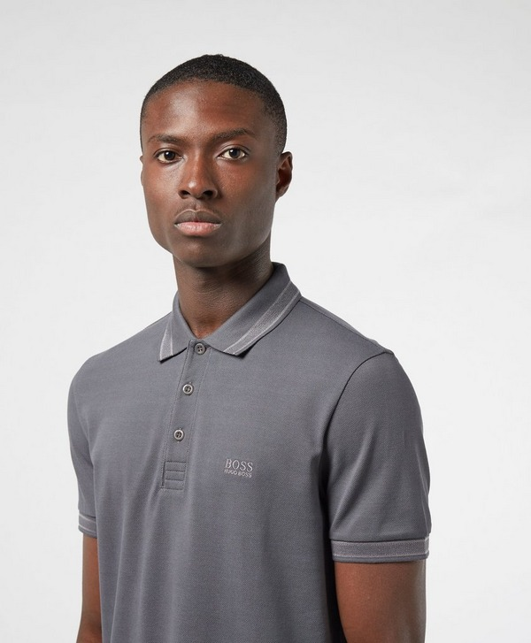 BOSS Paddy Short Sleeve Tipped Polo Shirt