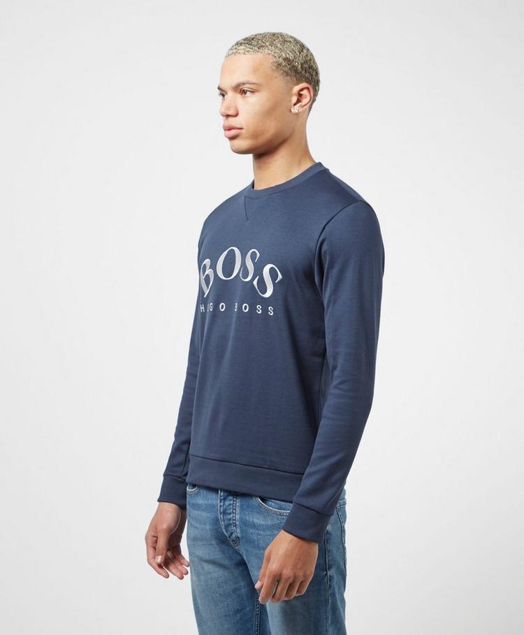 BOSS Salbo Curve Crew Sweatshirt
