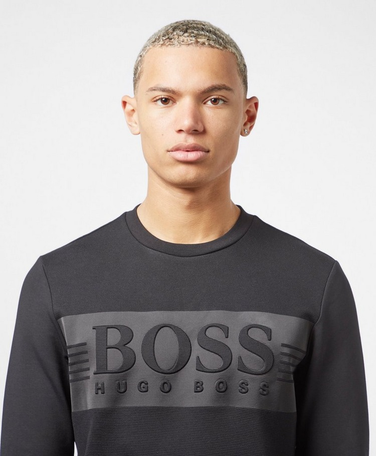BOSS Saltach Tech Crew Sweatshirt