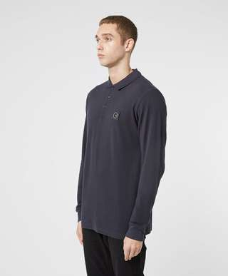Marshall Artist Siren Long Sleeve Polo Shirt