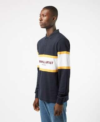 Marshall Artist Crown Heights Long Sleeve Polo Shirt