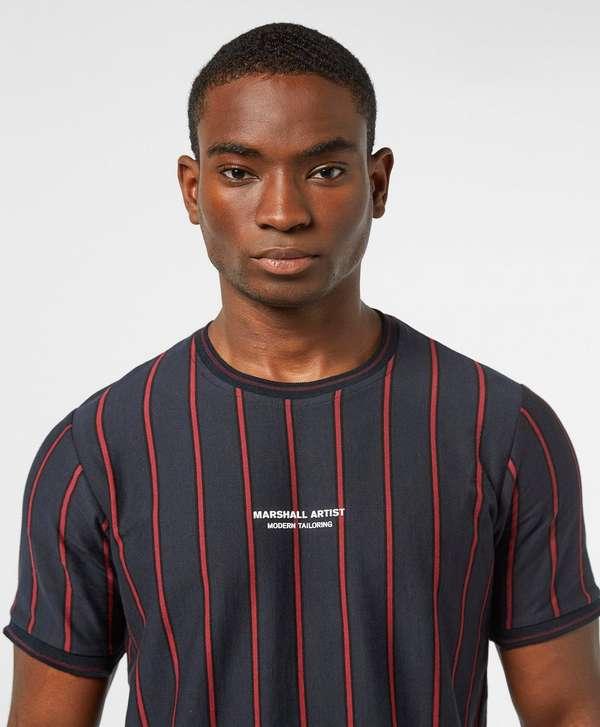 Marshall Artist Pinstripe Short Sleeve T-Shirt