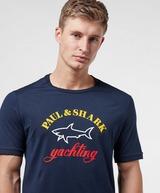 Paul and Shark Core Logo Short Sleeve T-Shirt