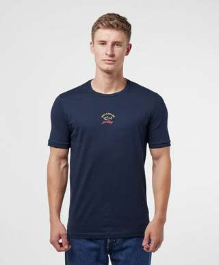 Paul and Shark Small Centre Logo Short Sleeve T-Shirt