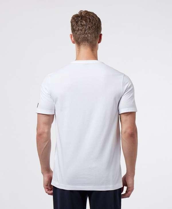 Paul and Shark Multi Colour Logo Short Sleeve T-Shirt