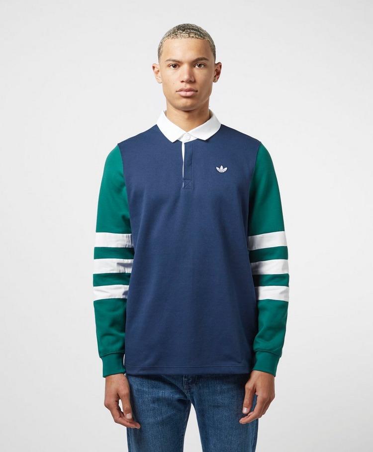 adidas Originals Sams Rugby Long Sleeve Polo Shirt