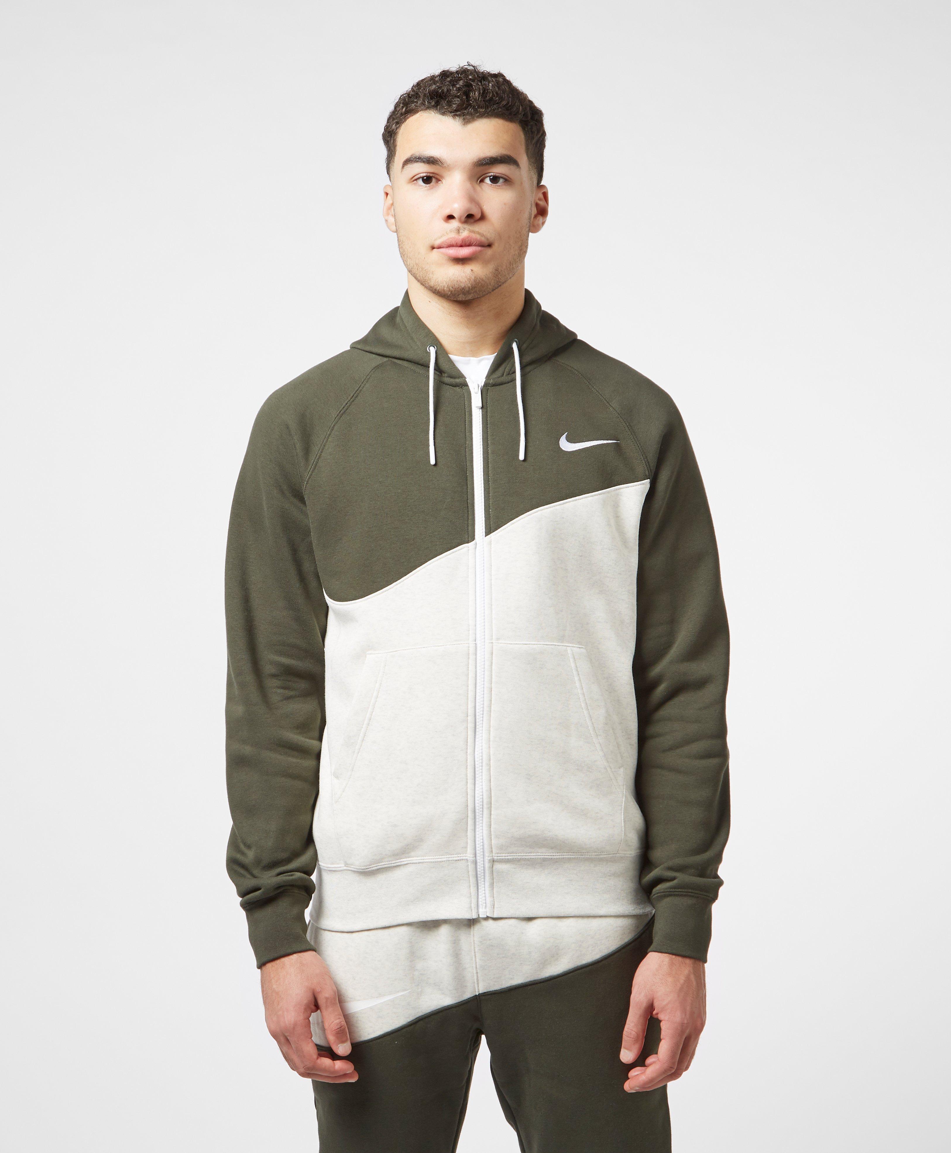 new styles super quality store Nike Swoosh Fleece Full Zip Hoodie | scotts Menswear