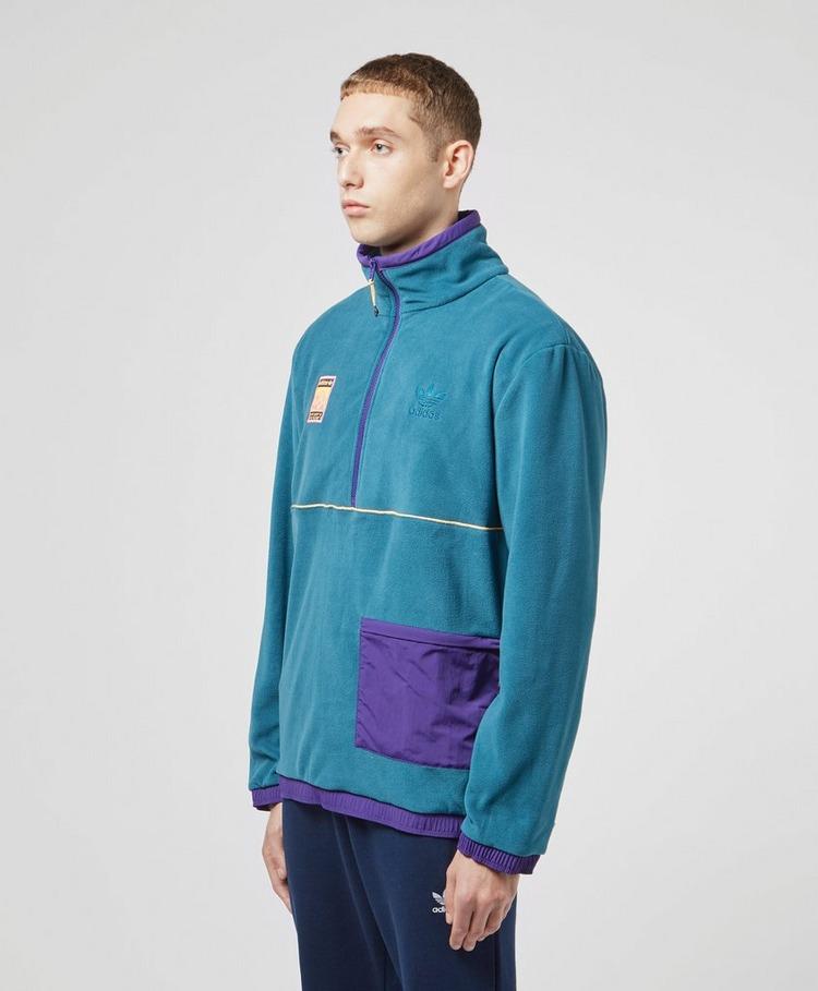 adidas Originals Outdoor Fleece Half Zip Sweatshirt