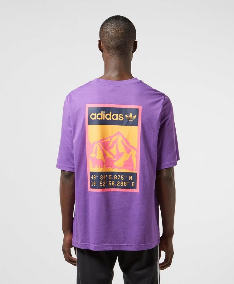 adidas Originals Outdoor Graphic Short Sleeve T-Shirt