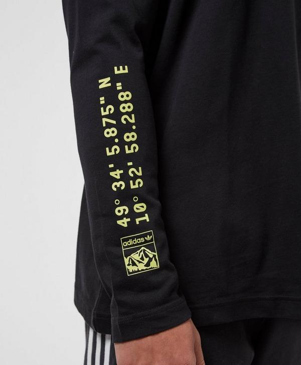 adidas Originals Outdoor Graphic Long Sleeve T-Shirt