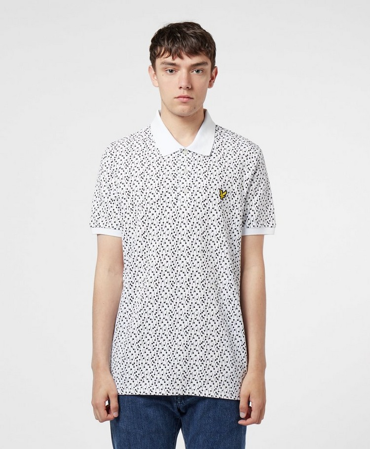 Lyle & Scott Print Short Sleeve Polo Shirt