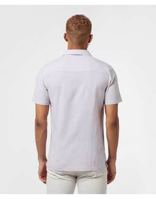 Lyle & Scott Cuban Collar Short Sleeve Shirt