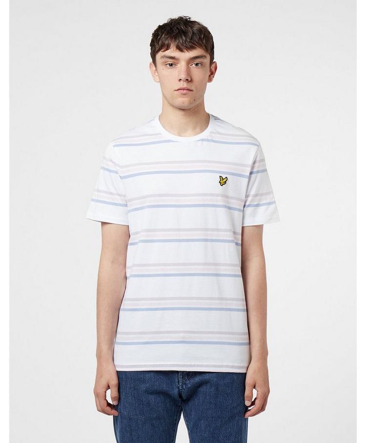 Lyle & Scott Multi Stripe Short Sleeve T-Shirt