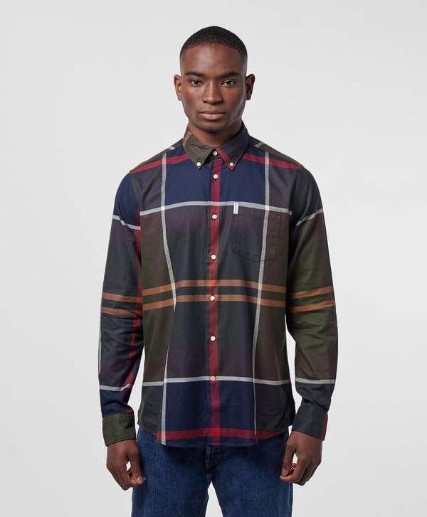 837a04112b503 Barbour Dundon Long Sleeve Tartan Shirt | scotts Menswear