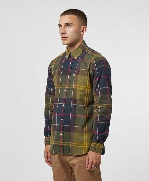 7c15de9e5e625 Barbour Tartan Long Sleeve Shirt