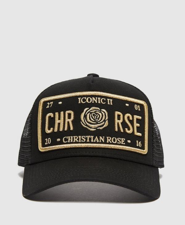 Christian Rose Icon Cap