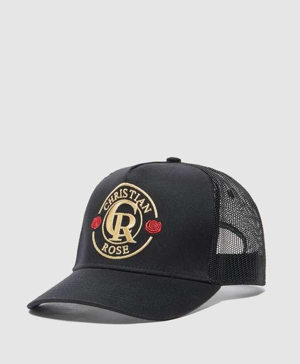 Christian Rose Rose Logo Cap