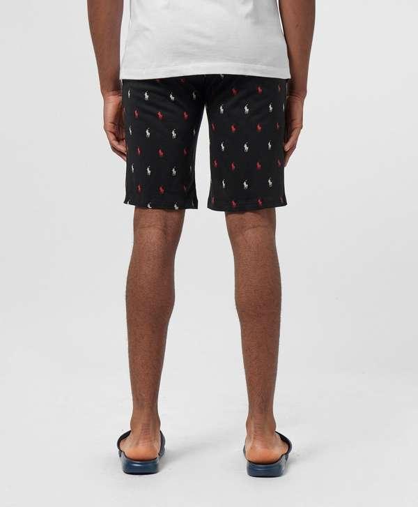 Polo Ralph Lauren All Over Print Fleece Shorts