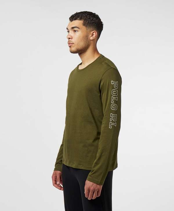 Polo Ralph Lauren Underwear Arm Script Long Sleeve T-Shirt