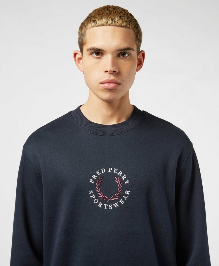 Fred Perry Global Logo Sweatshirt