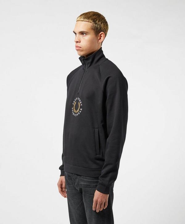 Fred Perry 1/4 Zip Global Sweatshirt