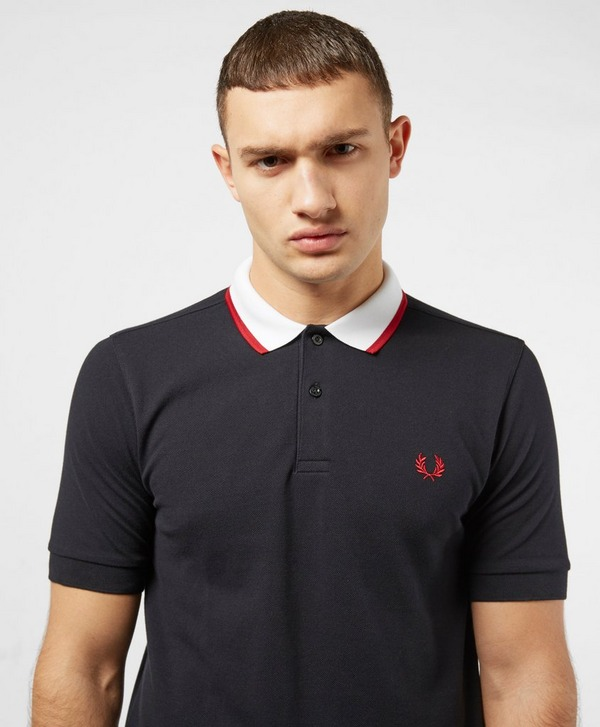 Fred Perry Contrast Tip Short Sleeve Polo Shirt