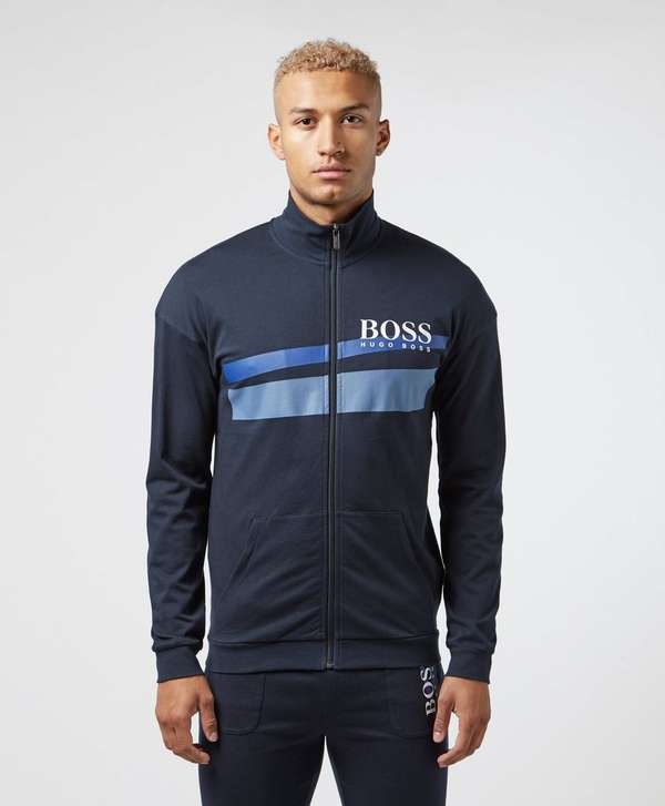 BOSS Authentic Retro Full Zip Track Top