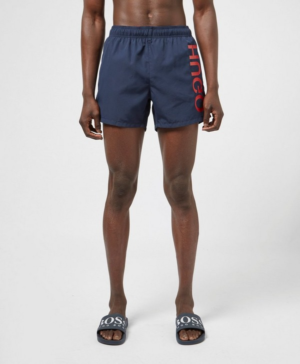 HUGO Saba Logo Swim Shorts