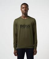 BOSS Gel Logo Crew Sweatshirt