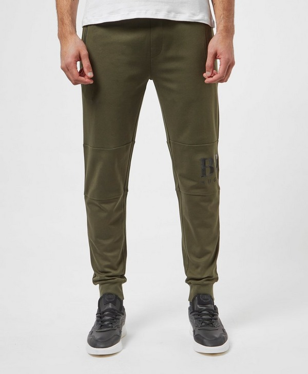 BOSS Gel Logo Cuffed Fleece Pants