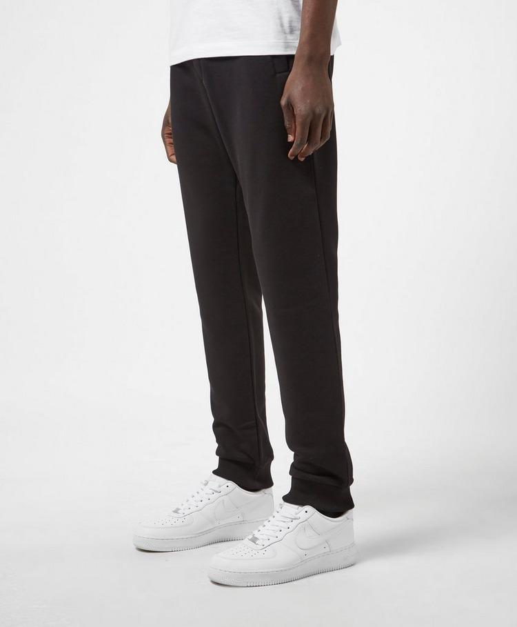 Versace Jeans Couture Felt Logo Cuffed Fleece Pants