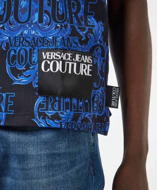 Versace Jeans Couture All Over Print Short Sleeve T-Shirt