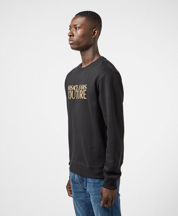 Versace Jeans Couture Gold Logo Sweatshirt