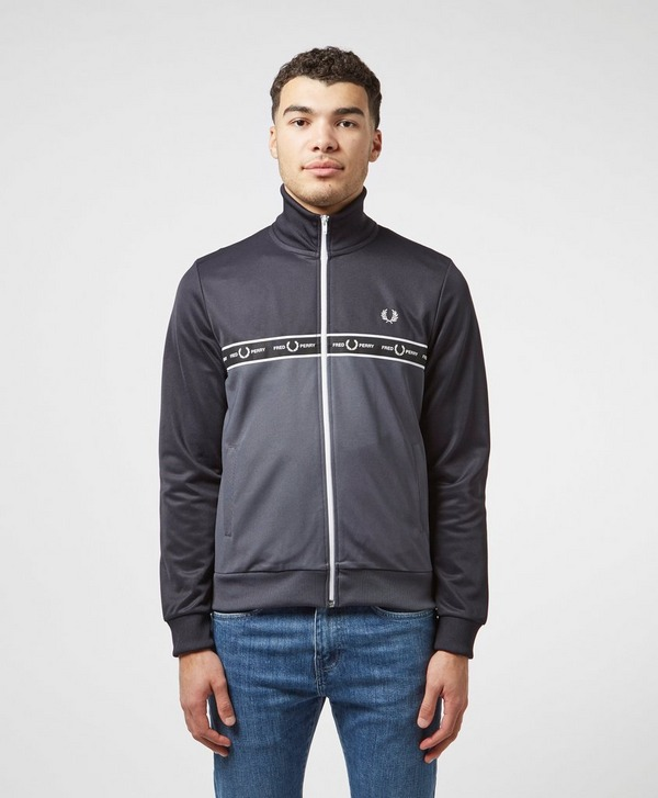 Fred Perry Full Zip Taped Track Top